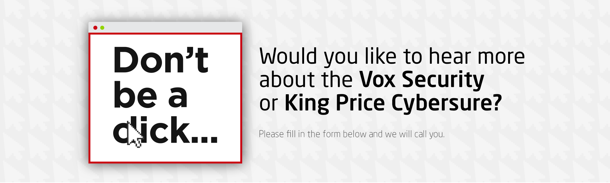 Vox  - King Price Header
