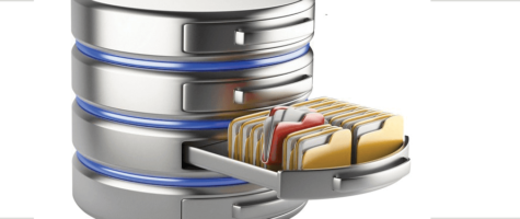 Data storage 3D illustration | Vox ICT