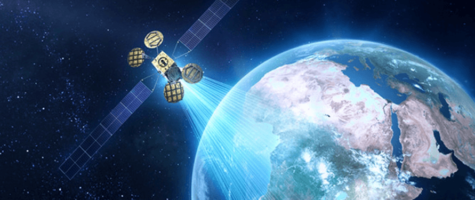 Satellite beaming to Earth Image  Vox ICT